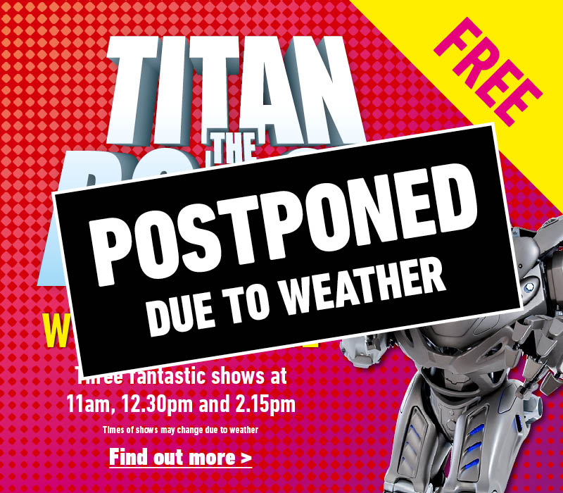 Titan the Robot event